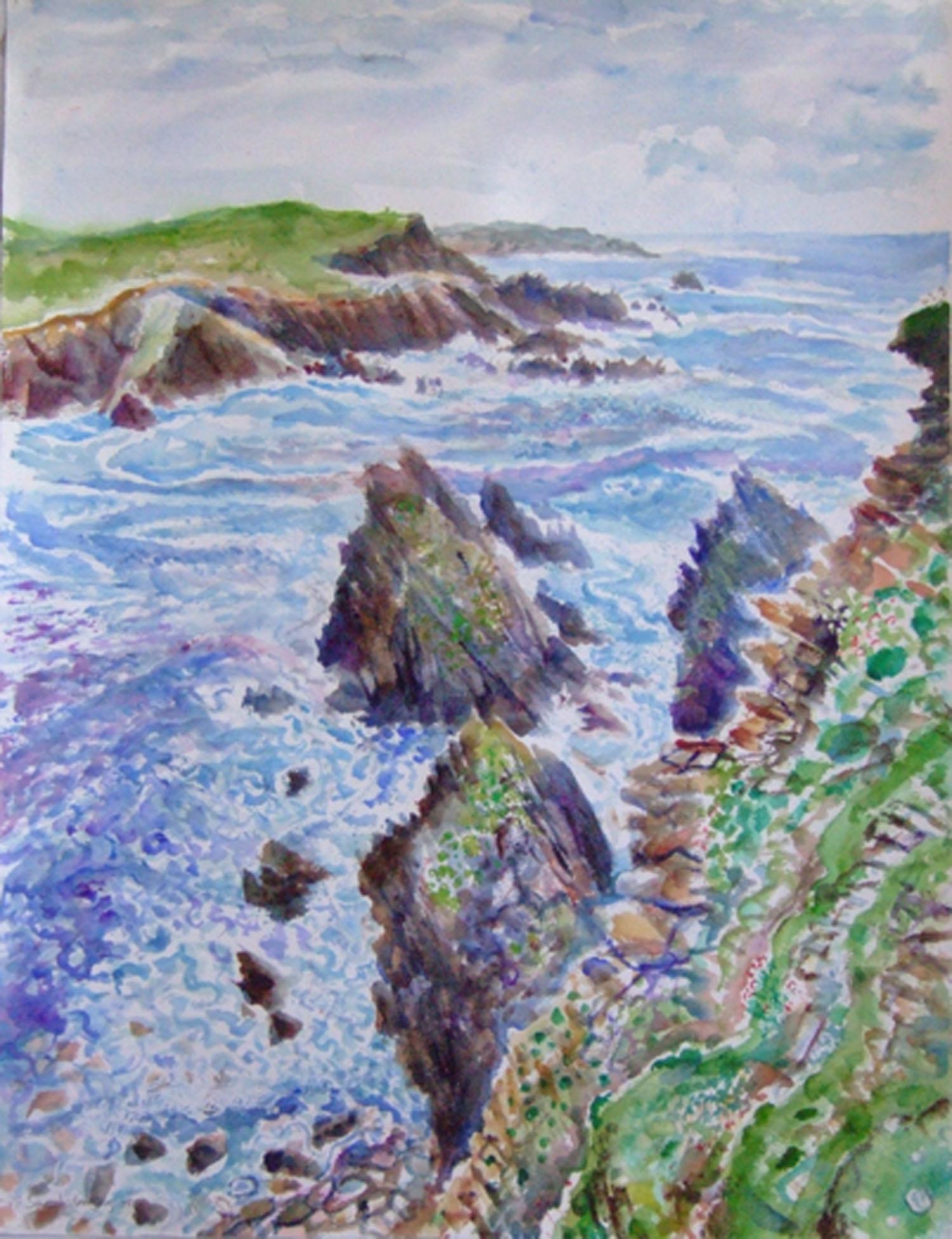 Sarah Longley_-_Sea Patterns_watercolour_76 x 56cm.jpg