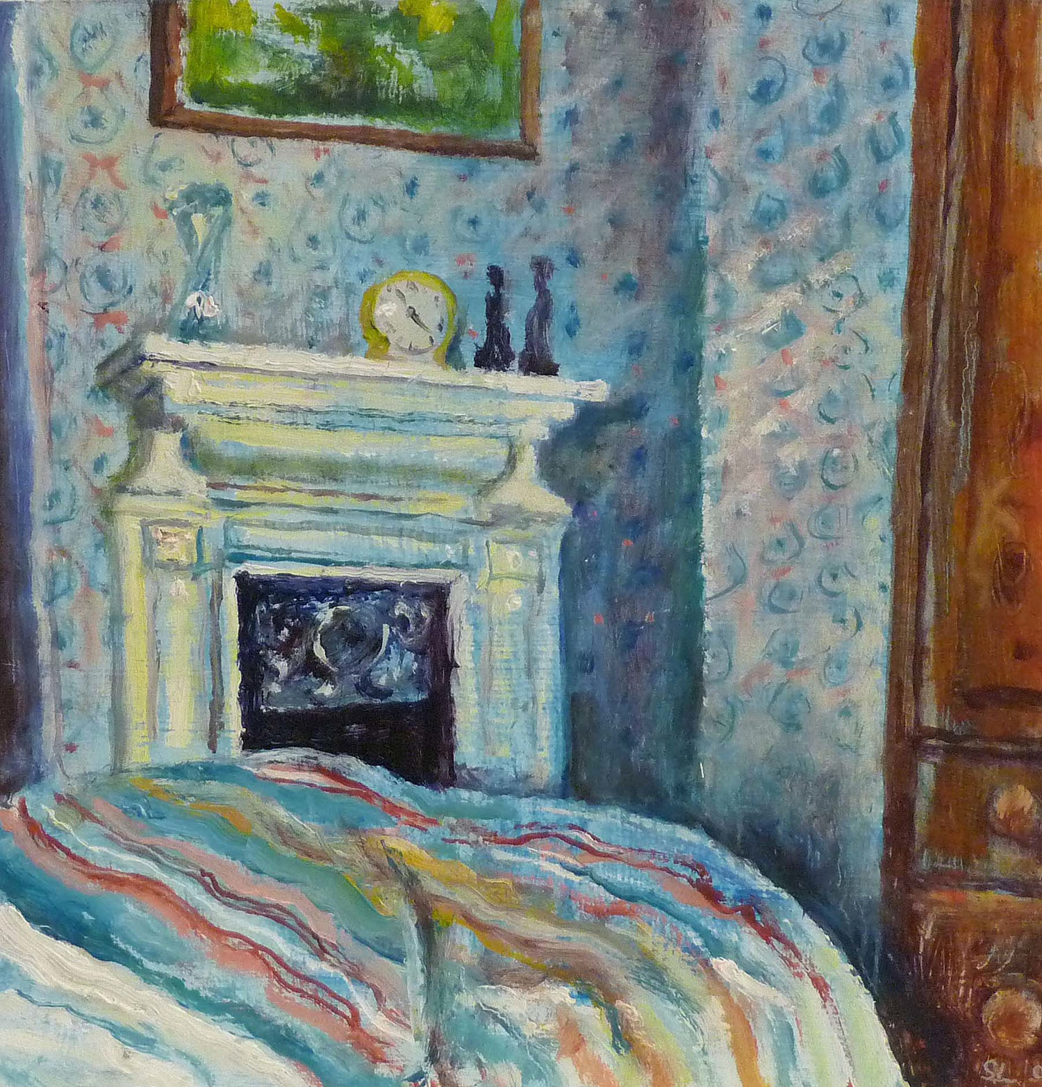 Sarah Longley_-_Spare Bedroom, Arran_oil on board_29 x 29cm.jpg