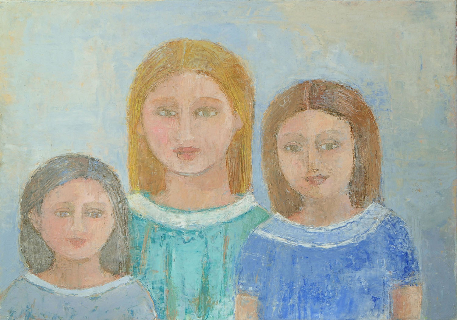 Anne Donnelly_2008_The Sisters_35 x 50cm_oil on canvas.jpg