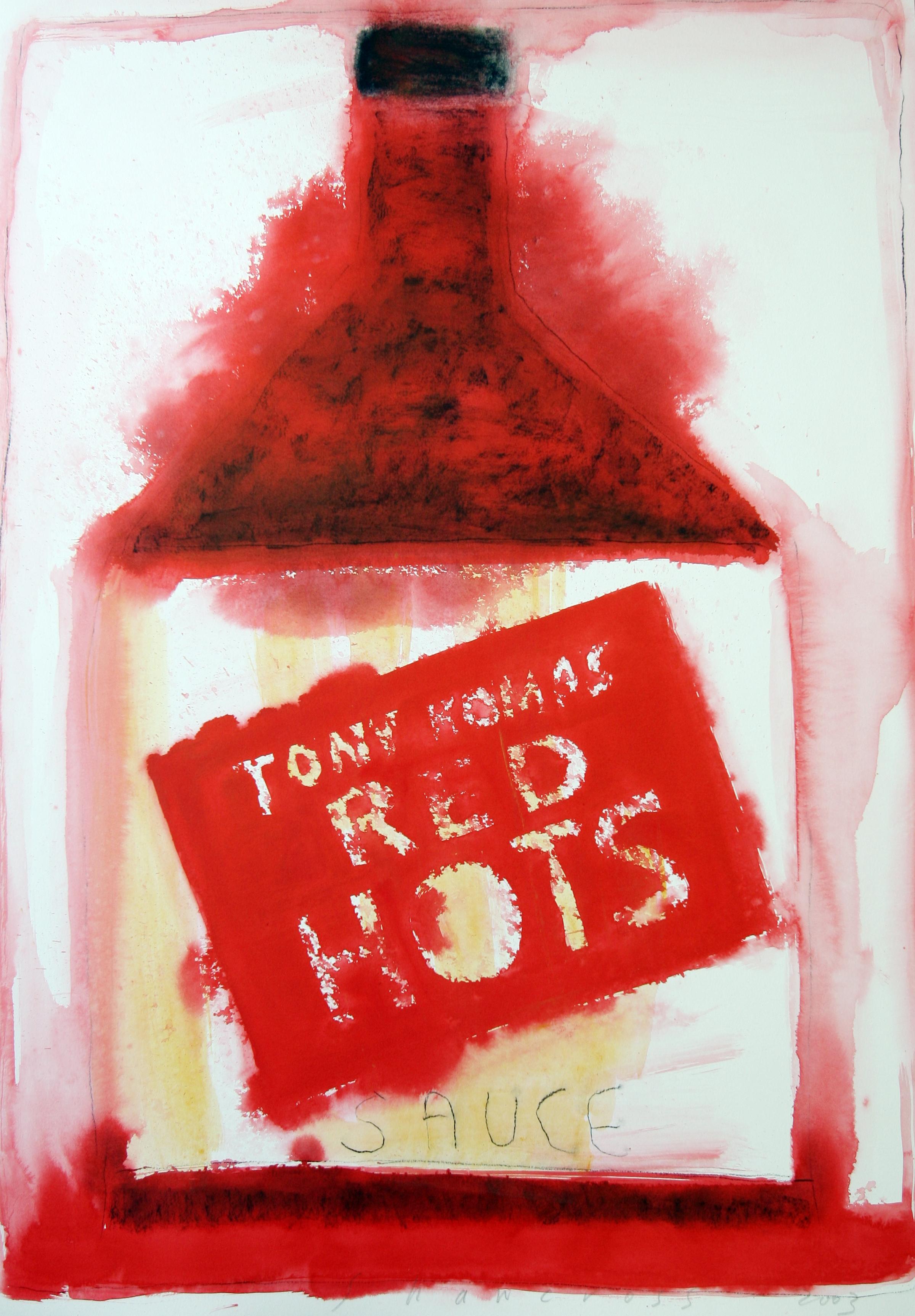 Neil Shawcross_-_Tony Komas Red Hots_acrylic on paper_102 x 76cm.jpg