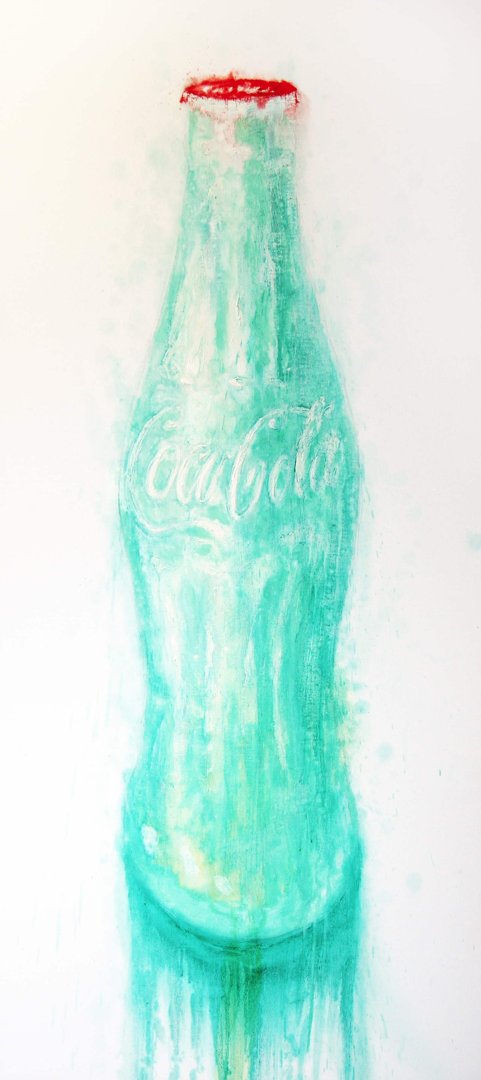 Neil Shawcross_-_Coca-Cola Bottle_acrylic on canvas_198 x 91.5cm.jpg