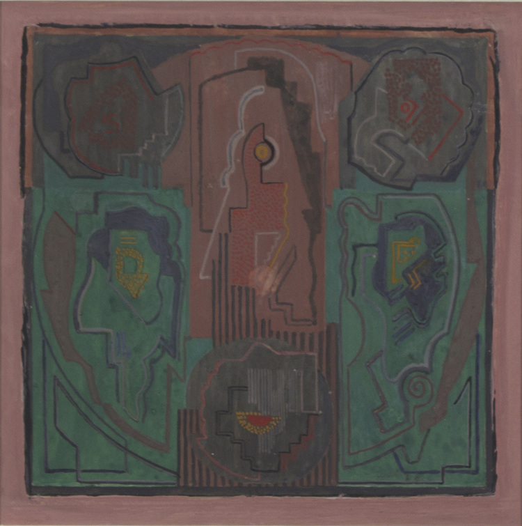 Mainie Jellet 'Three Elements' 1928 gouache on card 36x54cm.jpg