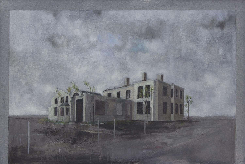 Graham Gingles_2012_Burnt Hotel Drumnagreagh II_oil on canvas_58 x 88cm.jpg