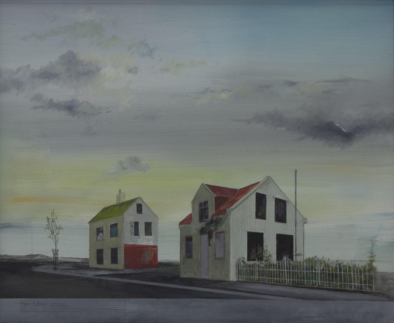 Graham Gingles_2012_Burnt House Iceland_oil on canvas_40 x 50cm.jpg