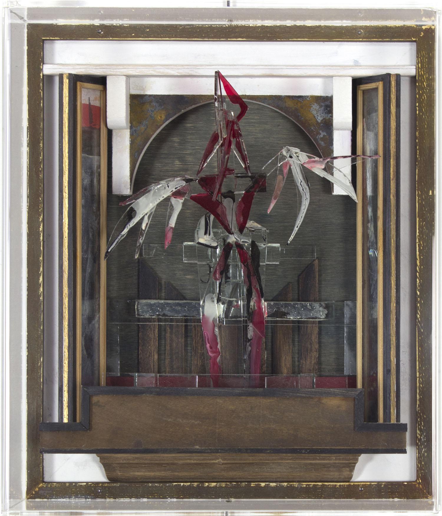 Graham Gingles_2012_Glass Bird III_mixed media_32 x 27 x 13cm.jpg