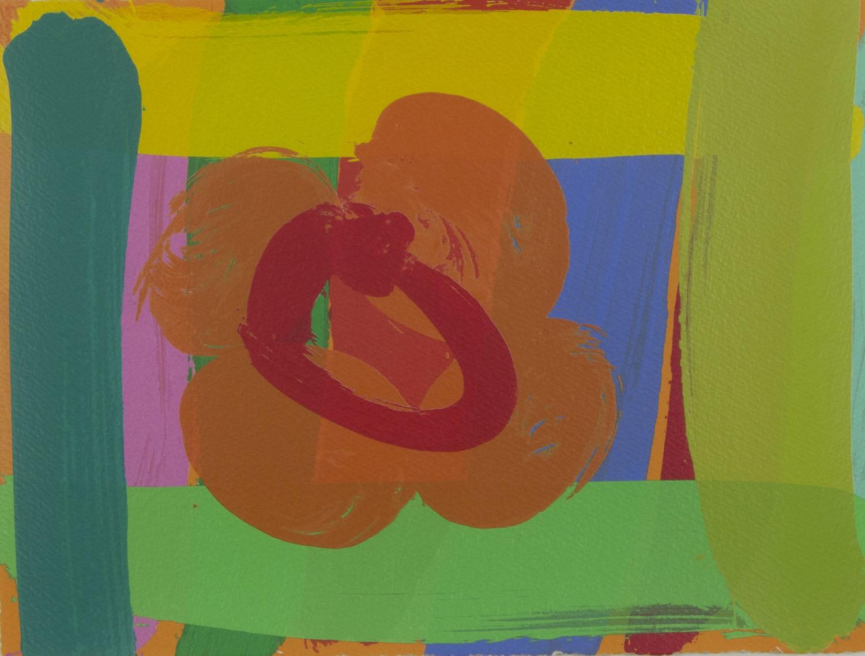Albert Irvin 'Louise I' screenprint 23x30cm.jpg