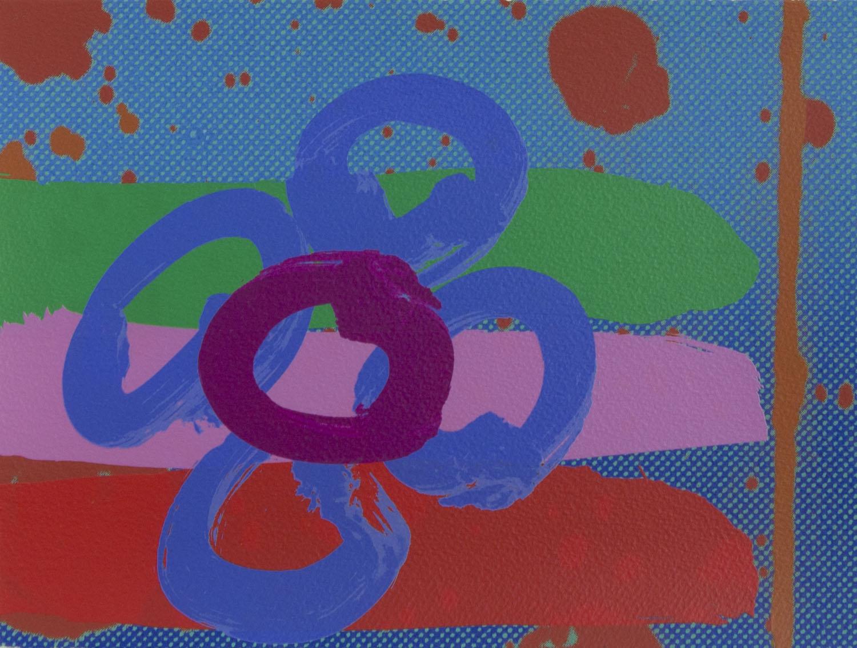 Albert Irvin 'Louise V' screenprint 23x30cm.jpg