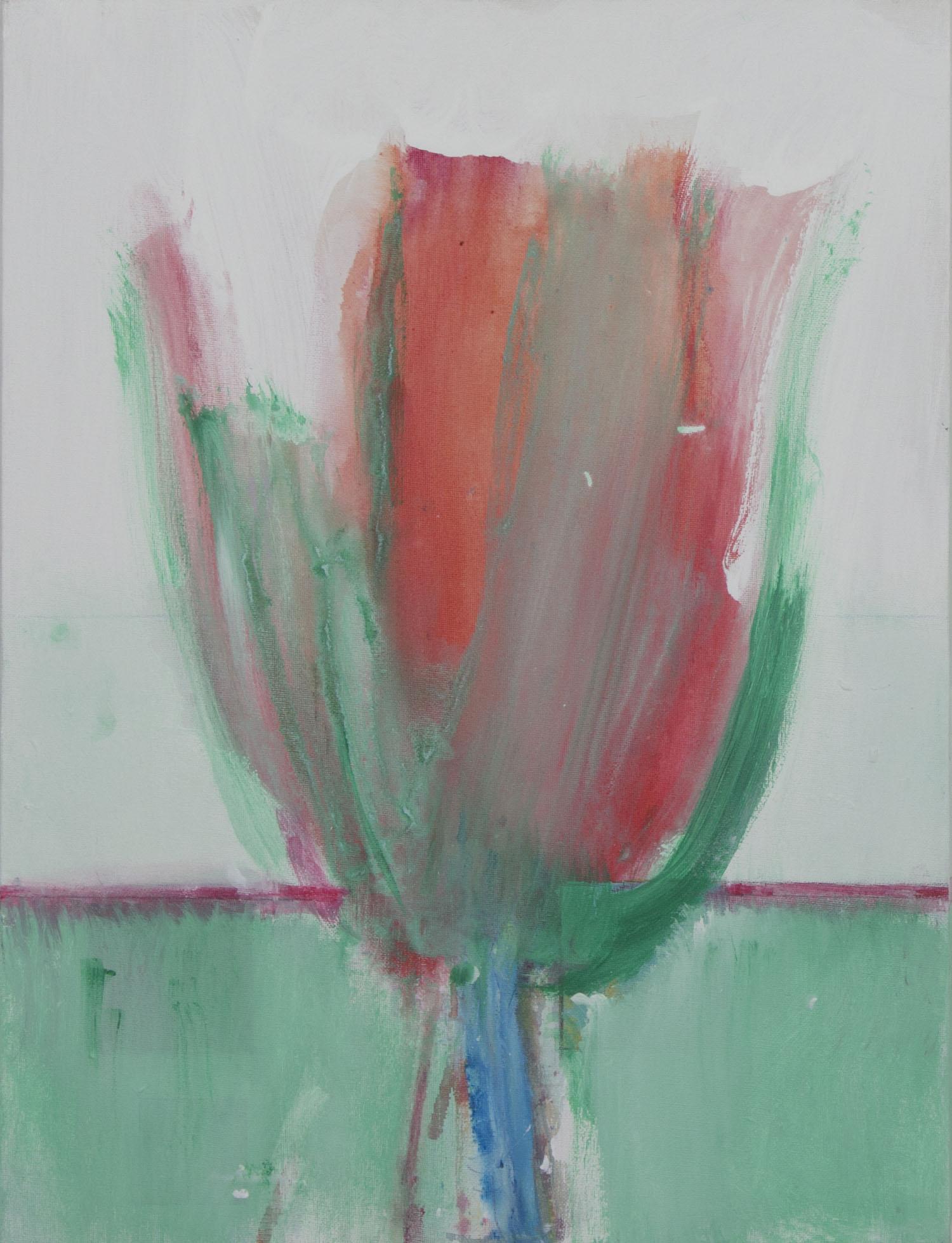 Robert Janz 'Inflowing 1' acrylic on canvas 60x46cm.jpg