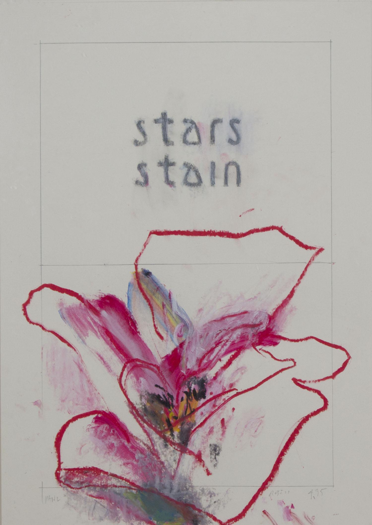 Robert Janz 'Rose' oil stick on paper 60x42cm.jpg