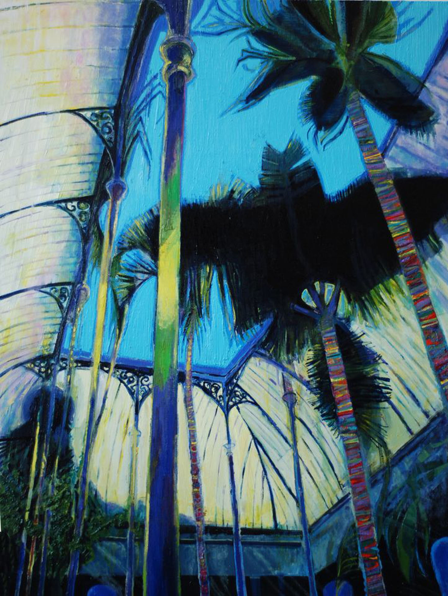 Simon McWilliams_-_Bat Palm_oil on canvas_€6000.jpg