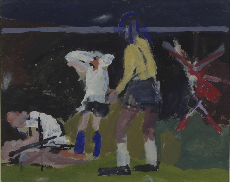 Joseph O'Connor 'George Best' oil on card 41x51cm.jpg