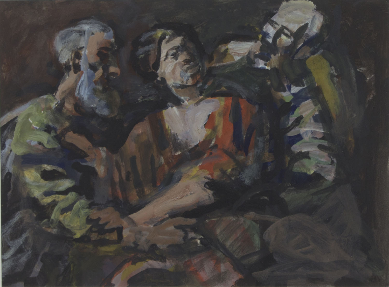 Joseph O'Connor 'Study After Guido Reni' oil on paper 25x33cm.jpg