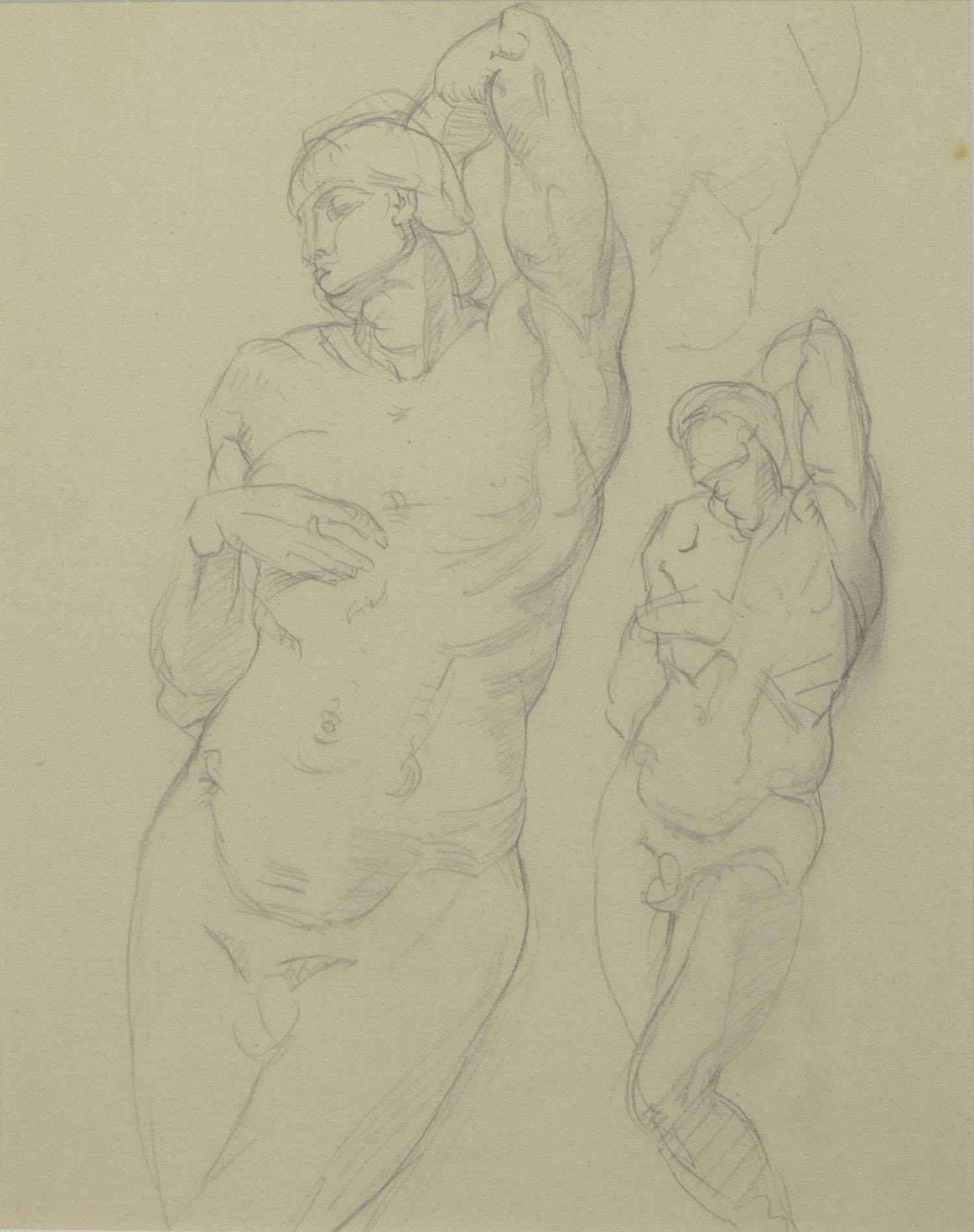 Mary Swanzy 'Life Study' pencil drawing 25x20cm.jpg