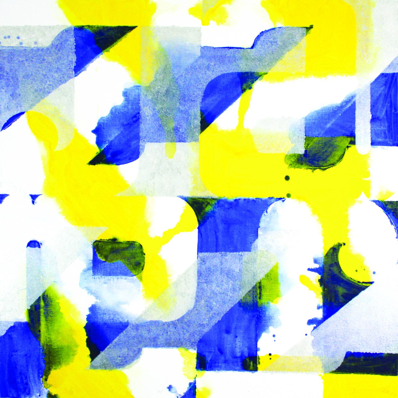 Neil Shawcross  Jazz   137x137cm