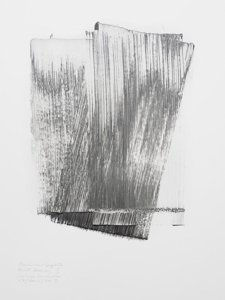 Aluminium & Graphite Paint Drawing II