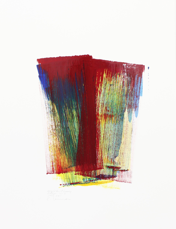 YRB XI    Acrylic Paint Drawing, 79x59cm