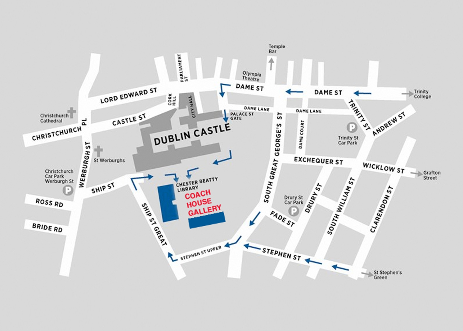 Find us at the Coach House Gallery