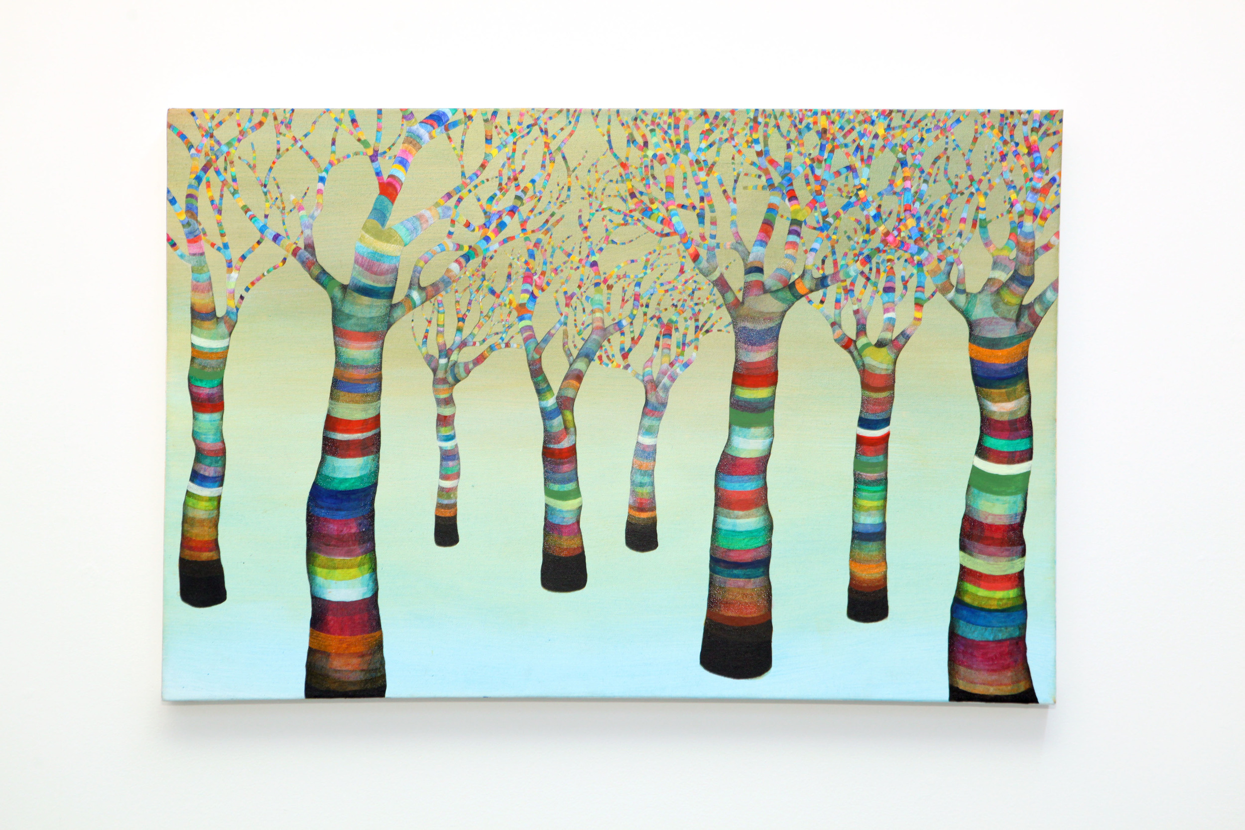 "Jessica Amos ""The Future..."" : acrylic on canvas"