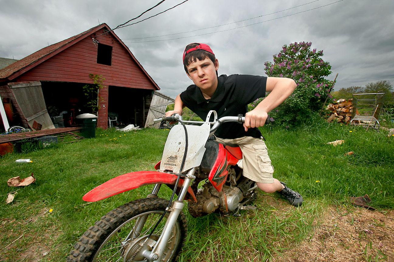 John-On-Red-Bike