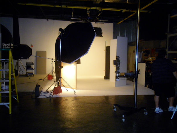 On set at  River Imaging