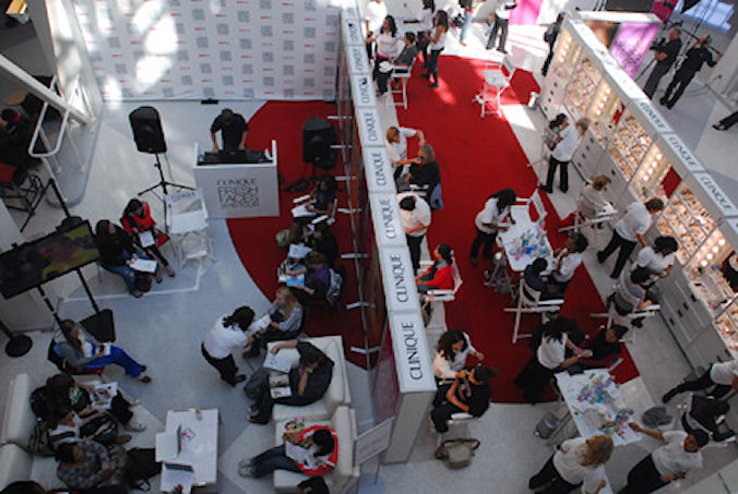 Clinique Fresh FacesTour for TeenMagazine at UC.