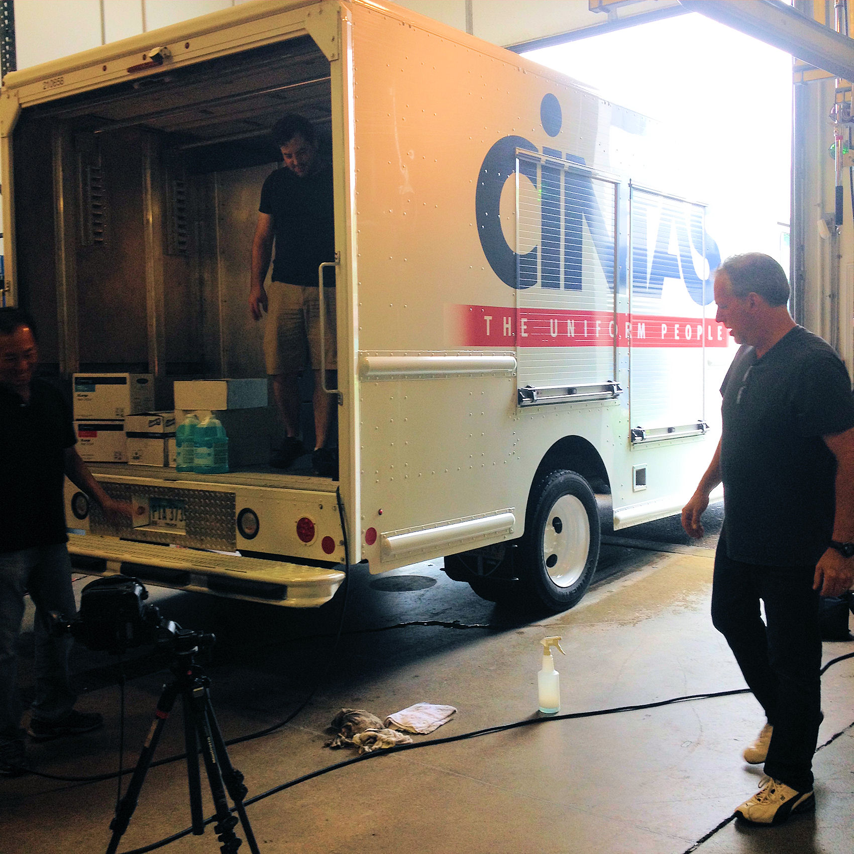 Catalog shoot for Cintas