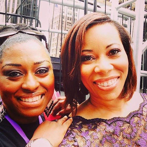 Chenese and  Sonia Jackson Myles on The Sister Accord Day.