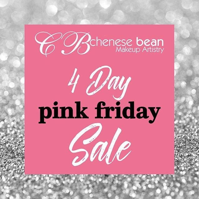 Shop www.chenesebean.com starting midnight Friday thru 11:59pm Monday to save 10-30% off selected items. Including gift cards, makeup appointments, makeup classes and bridal. 🎀 #pinkfriday #blackfriday #smallbusinesssaturday #cybermonday #cincymua #cincinnatimakeupartist #pinkfriday #makeupartist #mua #giftcards #makeupappointment #makeupclass #bridalmakeup #cincinnati #cincy #cincinnatimua #cincymakeupartist #cincinnatiwedding #cincinnatibride #lipcollection #holidayglam #giftsforher #glambychenesebean #readingbridaldistrict #readingbridal #christmas #christmasgift #birthdaygirl #birthdaygift