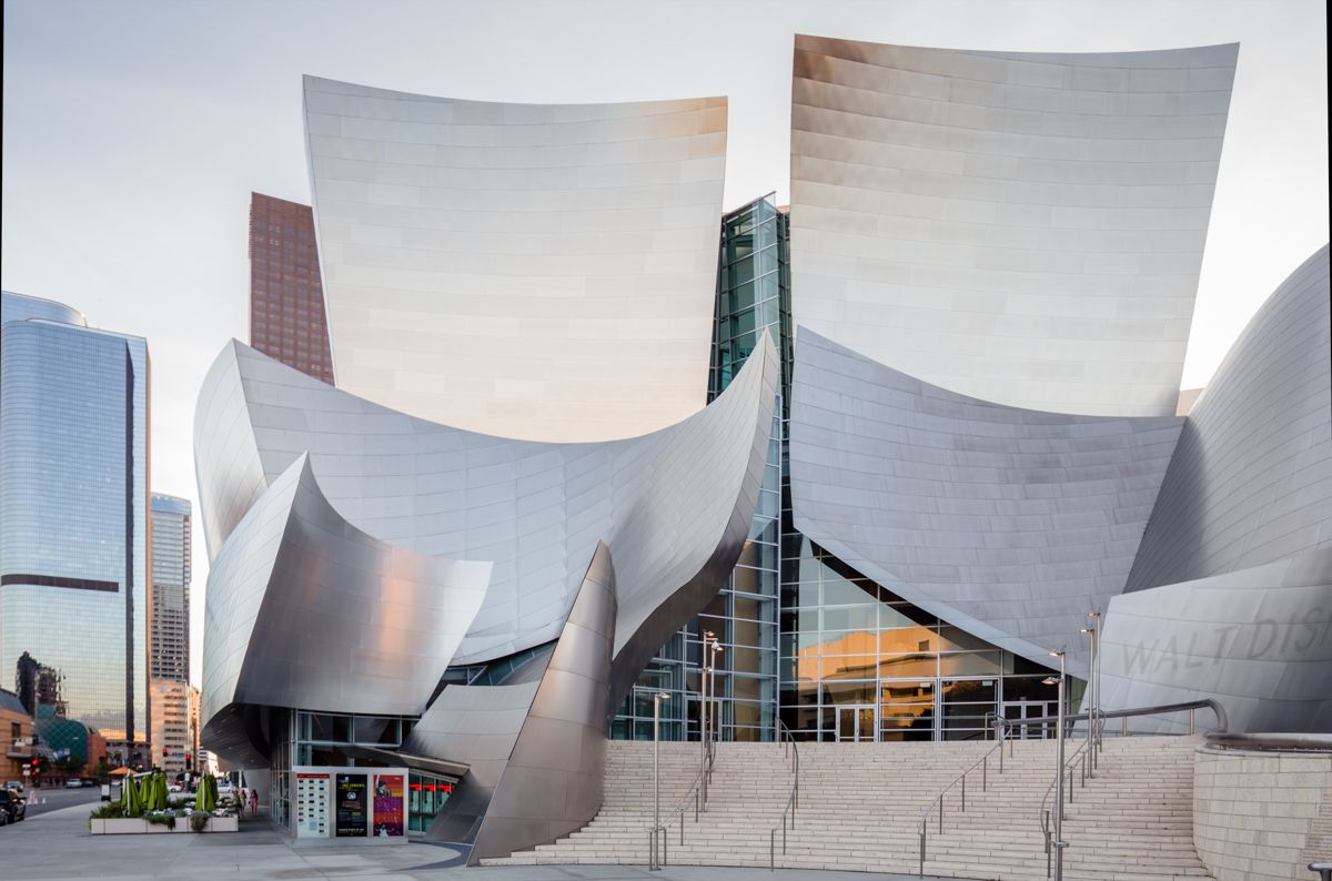 Walt Disney Concert Hall building