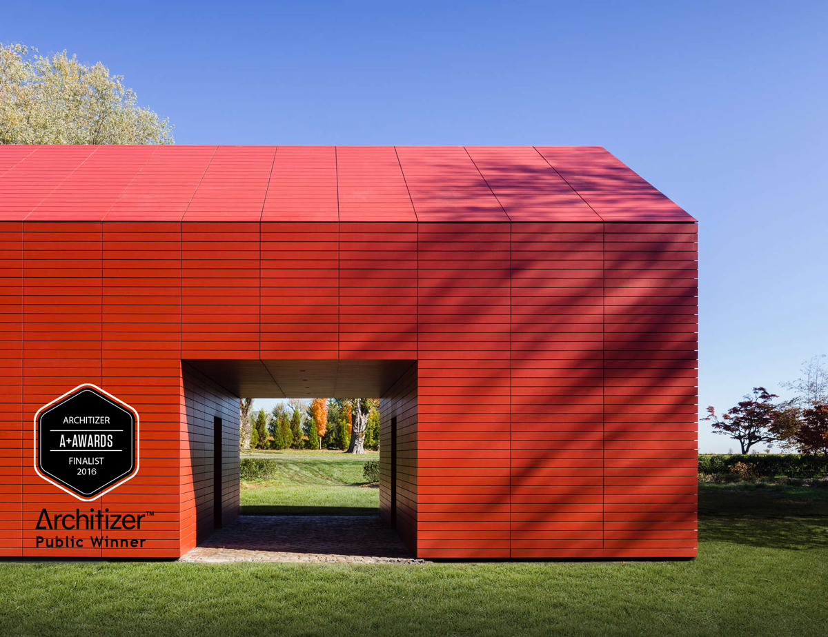 Red Barn designed by Roger Ferris + Partners wins Architizer A+ Awards - Popular choice