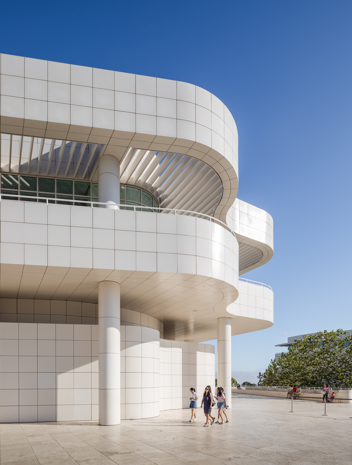 Details of the Getty Museum