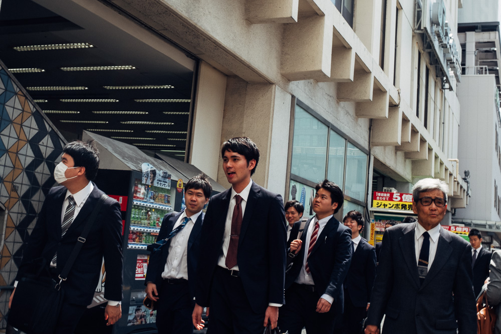 Pavel Bendov Street Photography Tokyo Japan