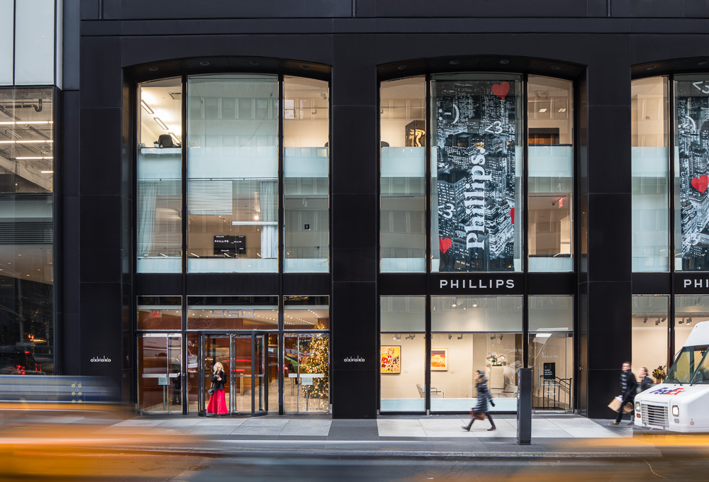 Commercial retail space at 450 Park Avenue owned by Oxford Properties Group