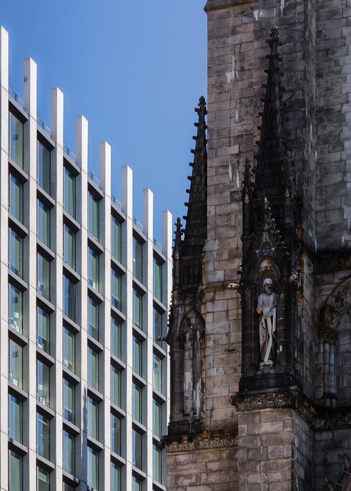 Details of Enclave building designed by Handel Architects
