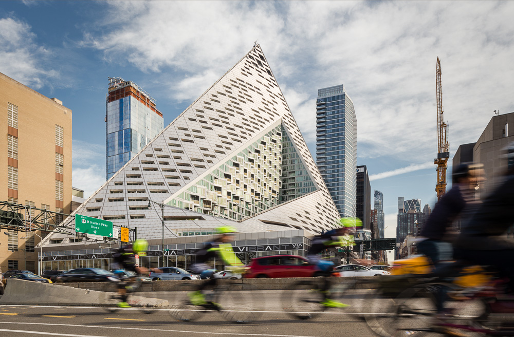 VIΛ 57 West designed by BIG-Bjarke Ingels Group