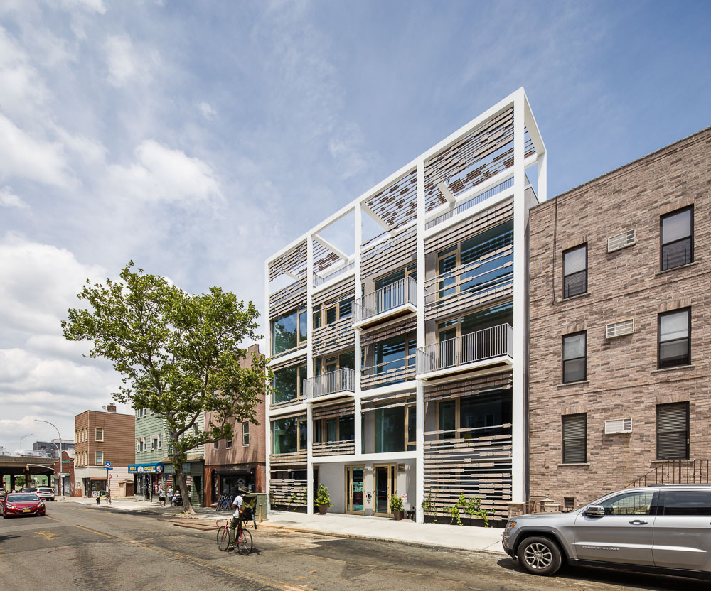 New residential building in Williamsburg by ODA New York