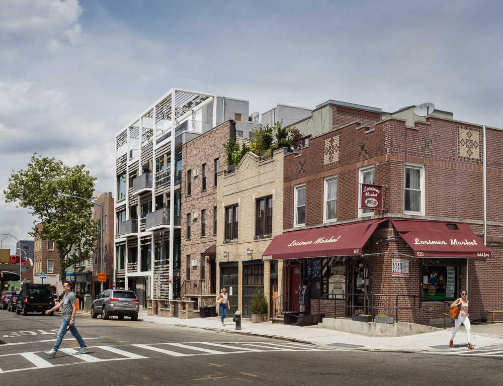 New residential building in Williamsburg by ODA