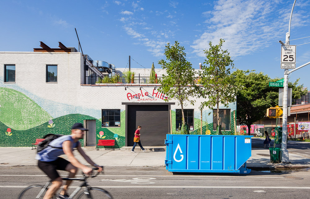 2000 Gallon Project by Alloy and Gowanus Canal Conservancy near Ample hills