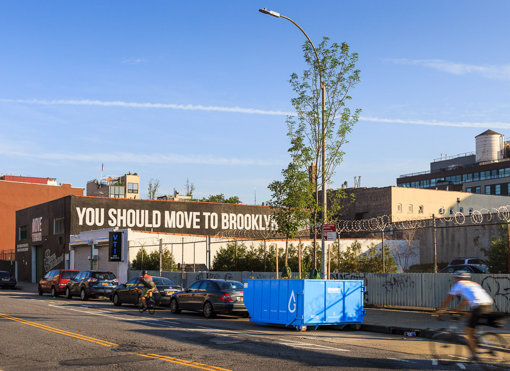 2000 Gallon Project is public installation by Alloy and Gowanus Canal Conservancy