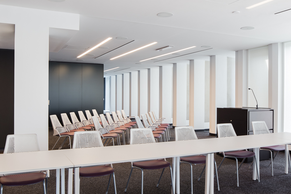 Conference room at Columbia Law School