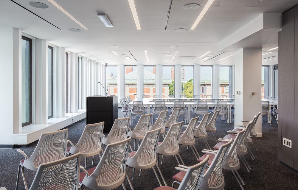 Conference space at Columbia Law School