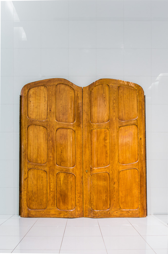 "DDC Furniture collection ""ddc Archive""  Antoni Gaudi's doors salvaged from Barcelona's Casa Batllõ in 1906."