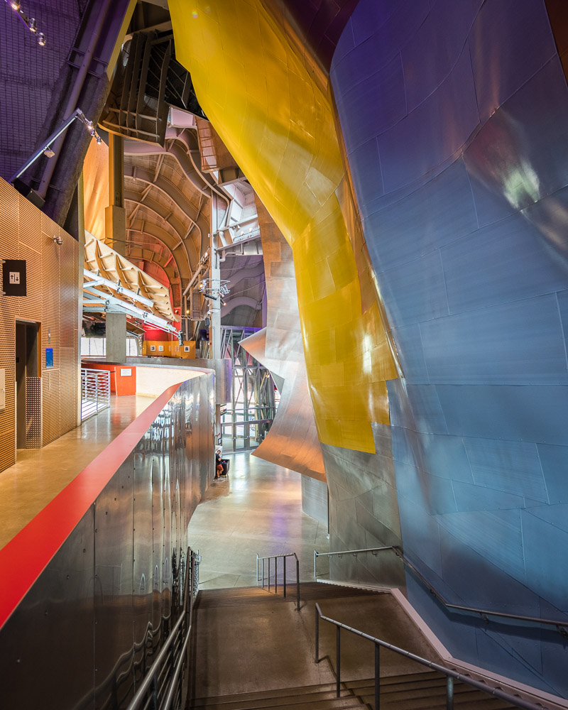 Interiors of the Museum of Pop Culture, Seattle, Washington