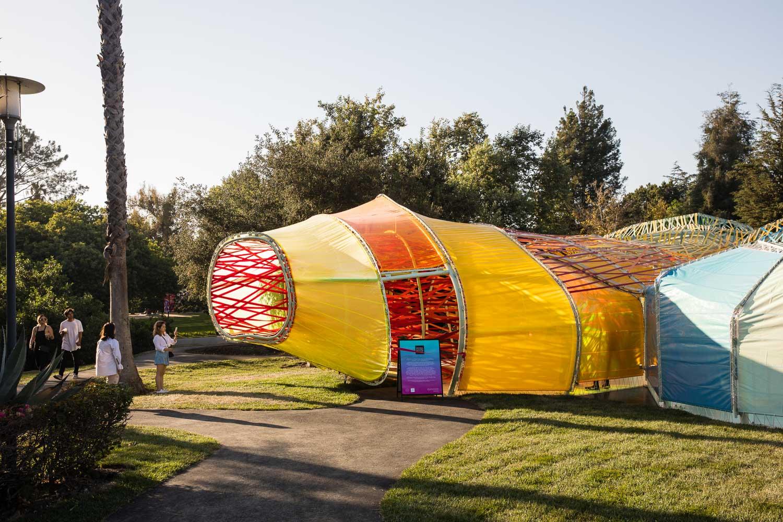 SelgasCano's Serpentine Pavilion in Los Angeles
