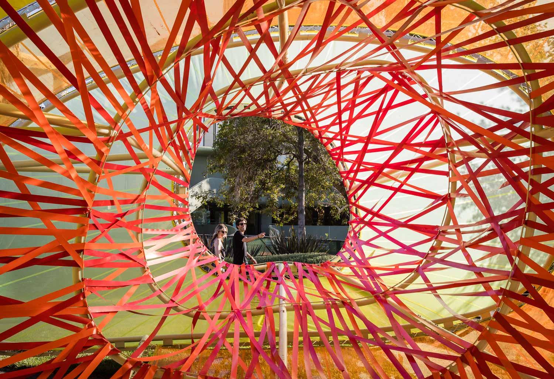 Details of the SelgasCano's Serpentine Pavilion