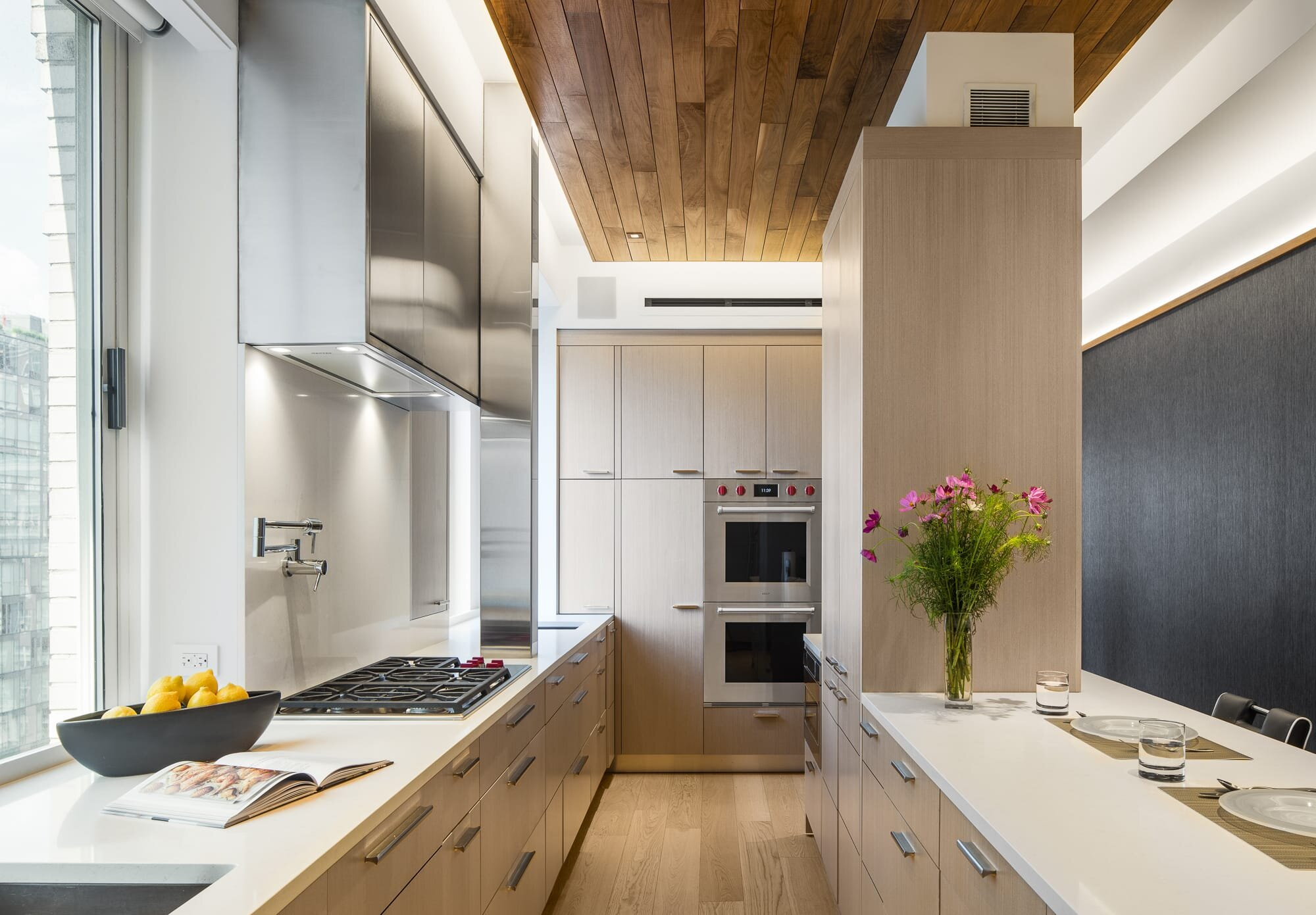 Kitchen designed by Andrew Wilkinson Architect