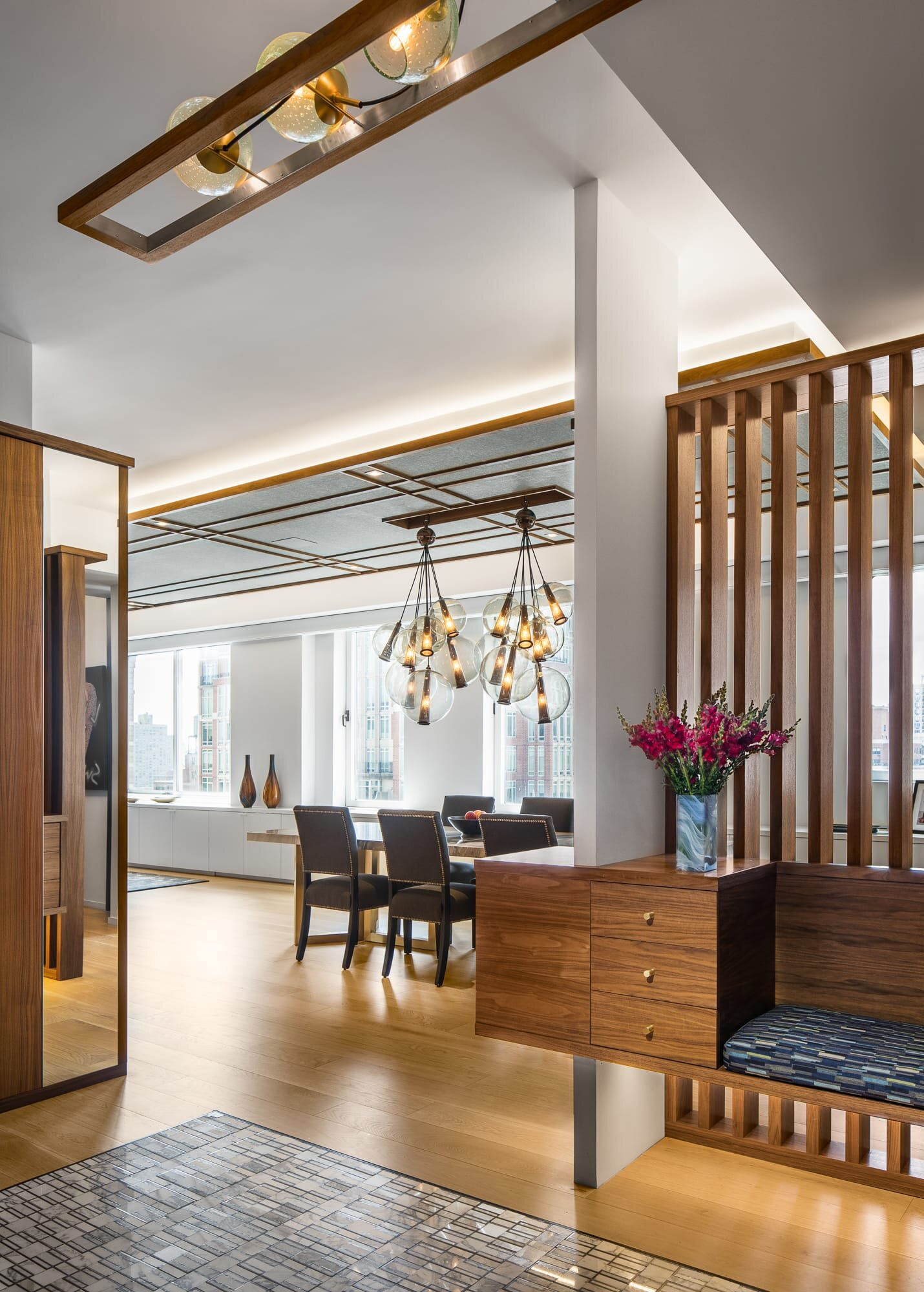 Foyer designed by Andrew Wilkinson Architect