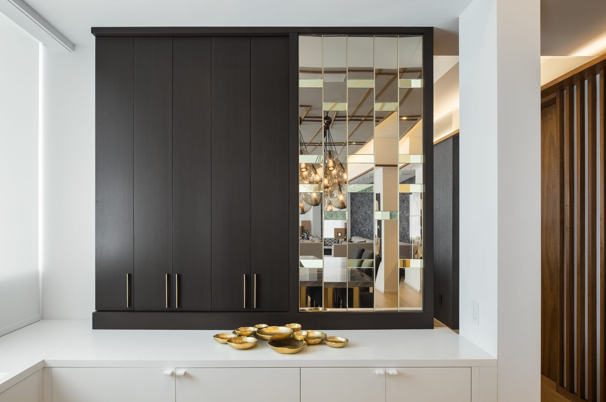 Dining room details designed by Andrew Wilkinson Architect