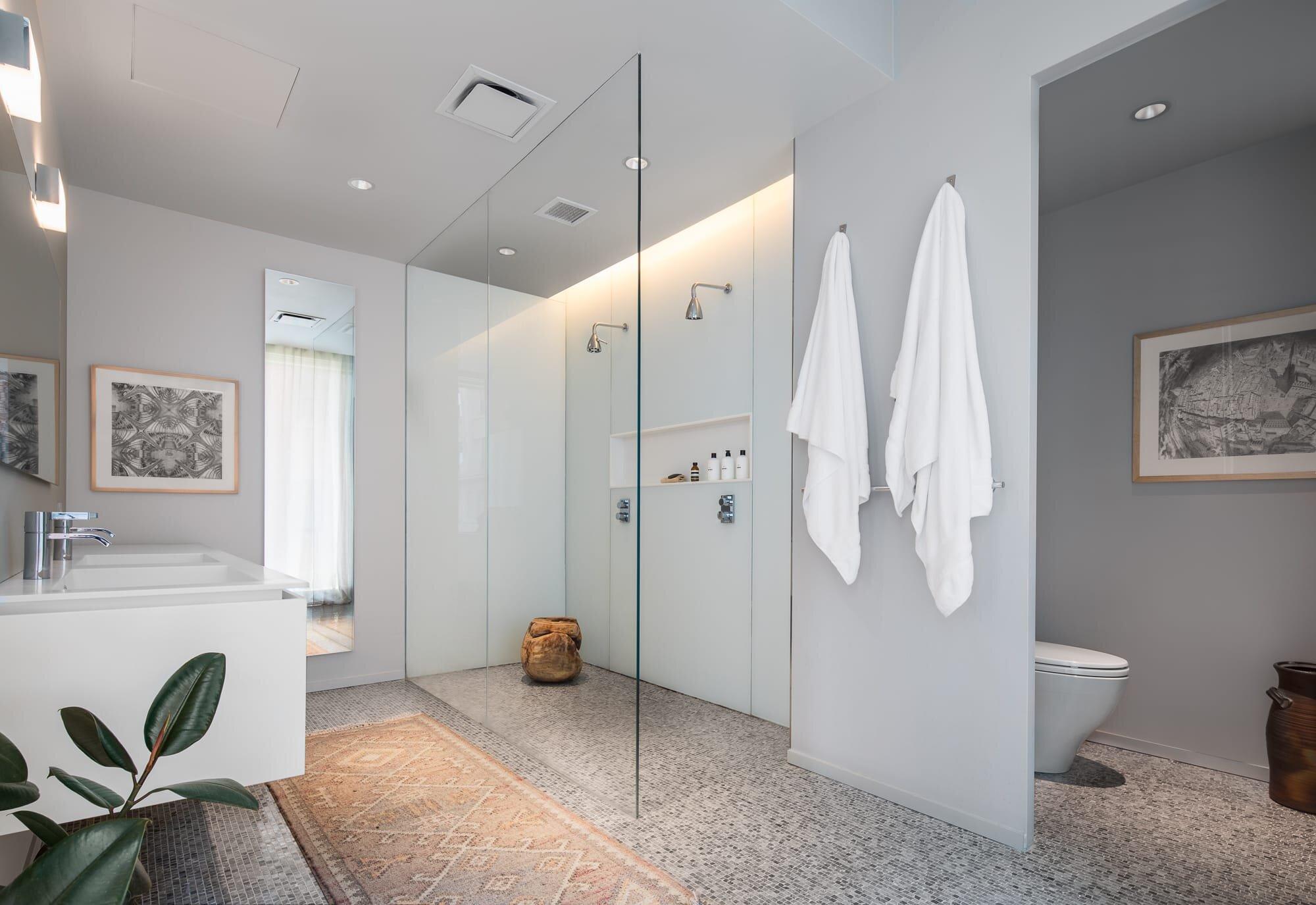 Master Bathroom designed by Alloy Development