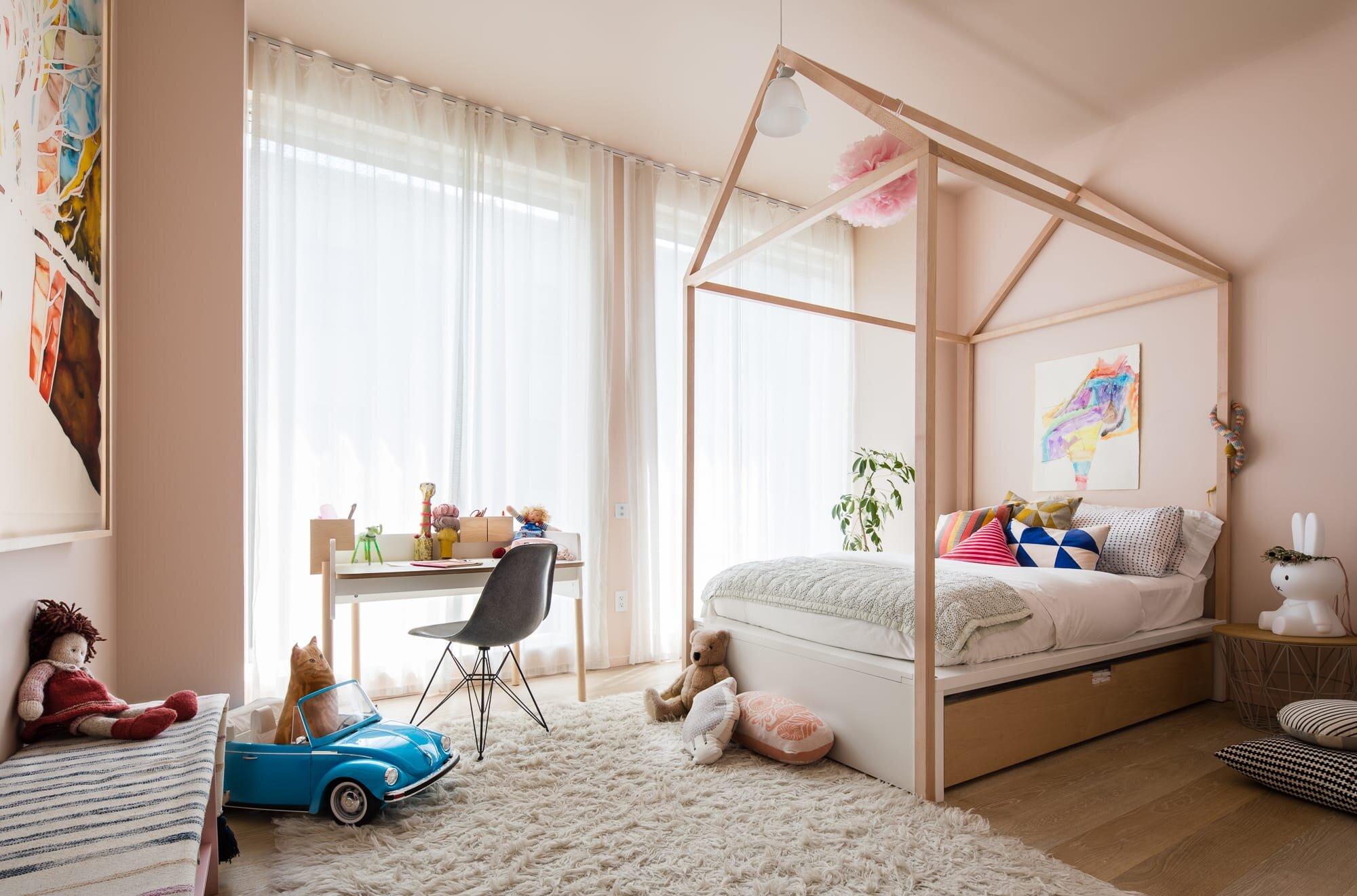 Second Kids bedroom designed by Alloy Development